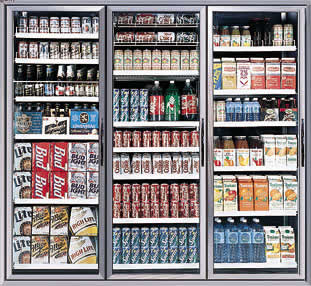 Commercial Soft Drink Refrigerators